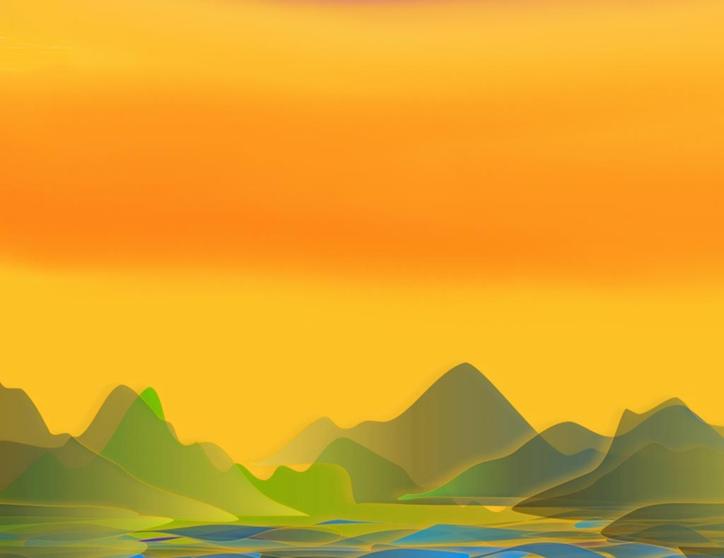 Sunset over Peaks LEP £375