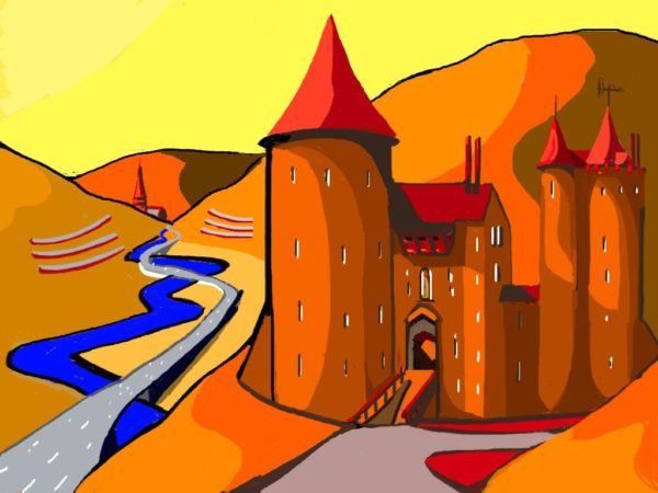 Castell Coch Abstract £375