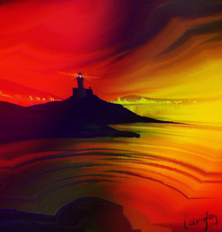 The Sentinel Gower Lighthouse LEP £345