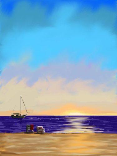 Mediterranean Sunset LEP £345