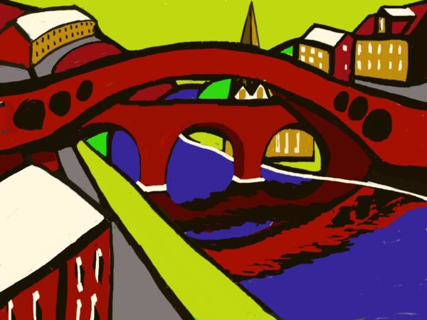Old Bridge Pontypridd