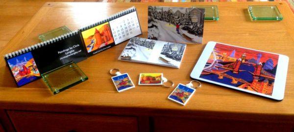 Calendars Cards Marketing items