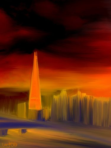 Shard in Red LEP £350