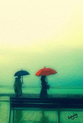 Two Umbrellas.