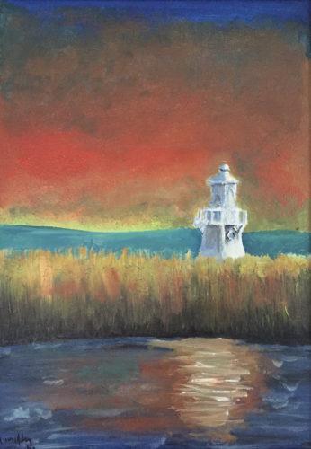 Newport Wetlands Lighthouse