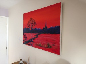 LLandaff in Red wall