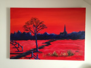 Llandaff in Red