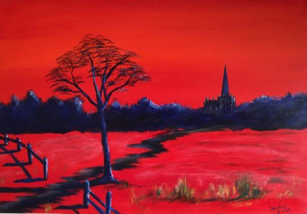 Llandaff in Red.