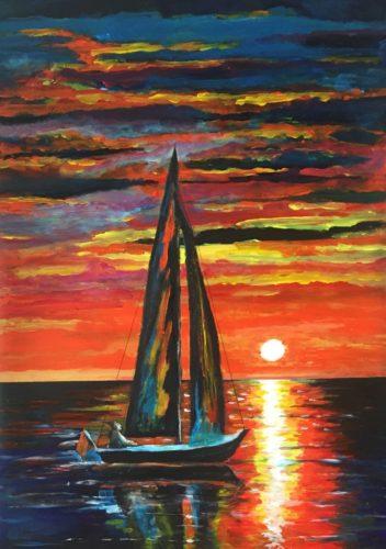 A Sunset Sail.