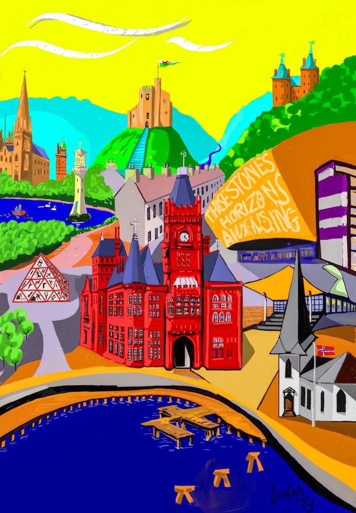 Cardiff Landmarks: A Cardiff Landmark Montage