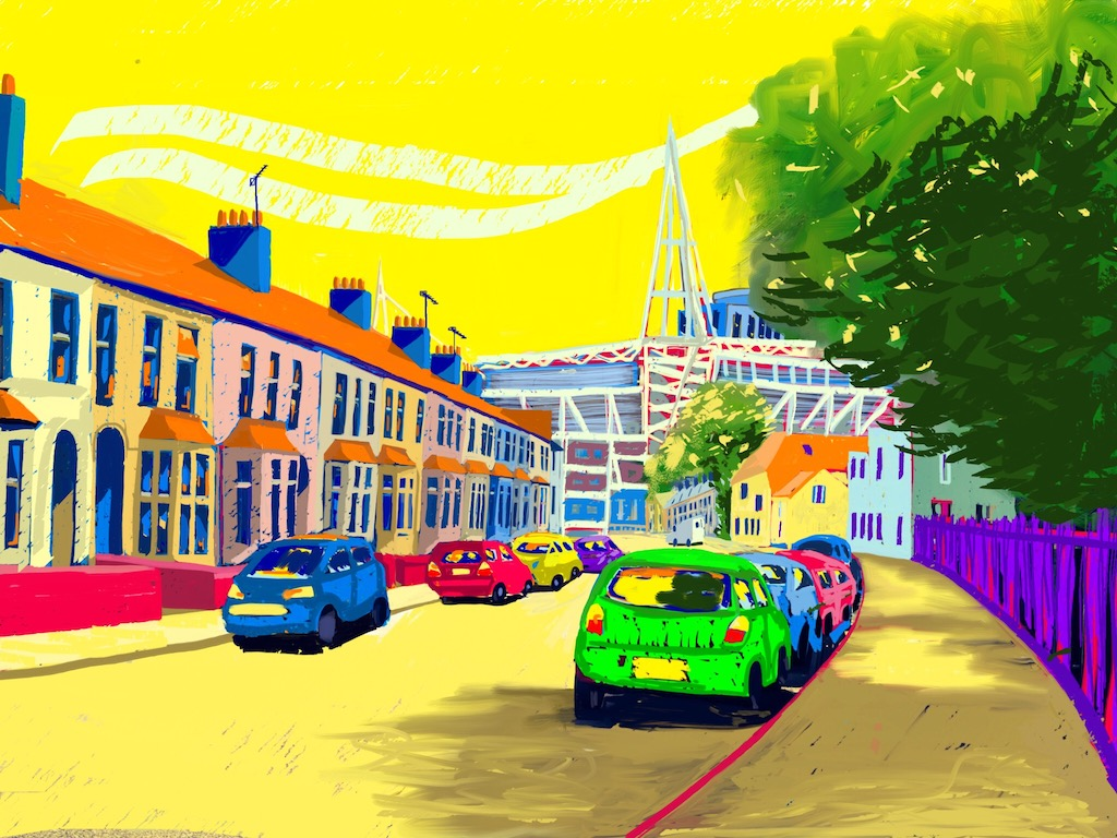 Cardiff Landmarks Despenser Street