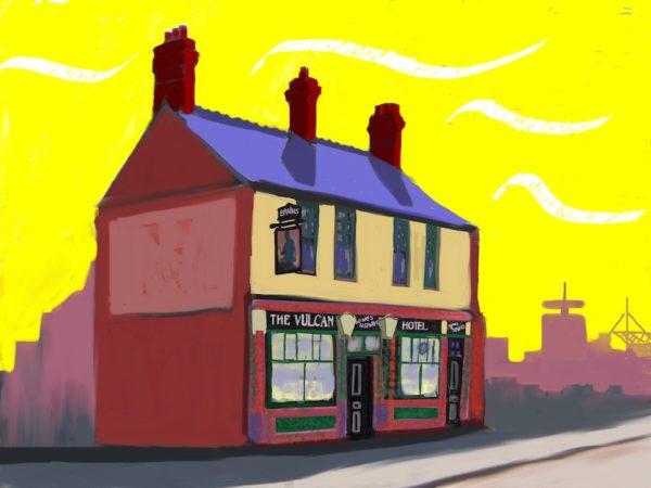 Cardiff Pub Series: The Vulcan